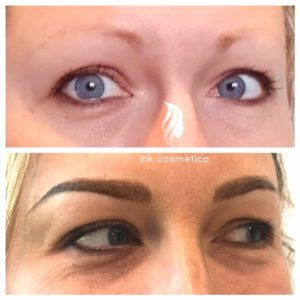 Ink Cosmetica Tattooing Melbourne | Combination Brow