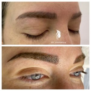 Ink Cosmetica Tattooing Melbourne|Eyebrow Cover up Tattoo