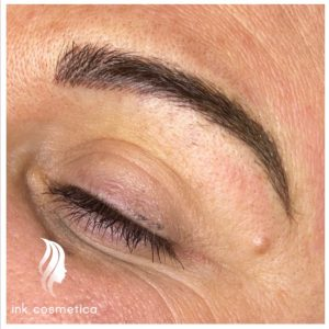 Ink Cosmetica Tattooing Melbourne | Eyebrow Feathering