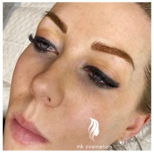 Ink Cosmetica Tattooing Melbourne|Powder Brow Tattoo